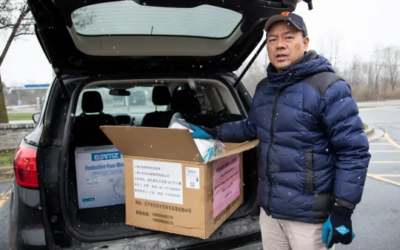 Chinese Americans in Michigan donate more than 200,000 masks, supplies