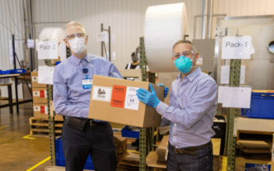 Companies partner to manufacture and donate respirators