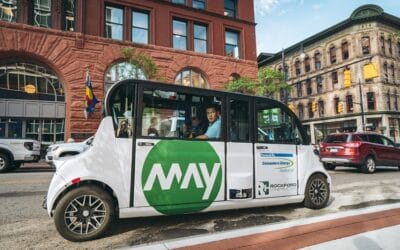 May Mobility's expansion in Ann Arbor underscores Michigan's leadership position in autonomous and connected vehicle technology